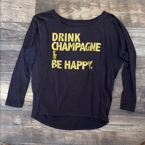 Chaser Drink Champagne & Be Happy Shirt